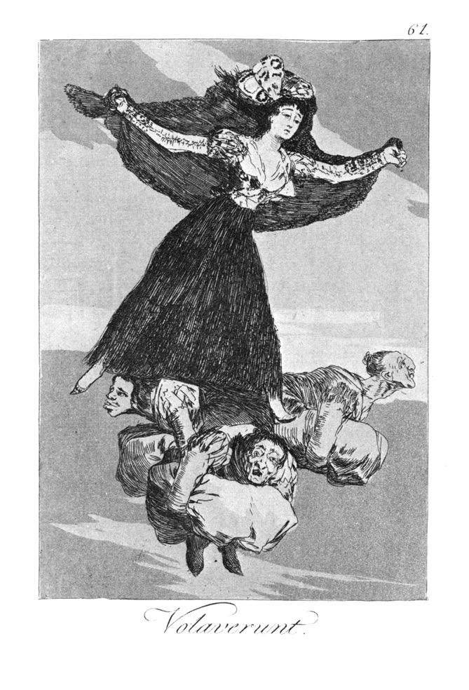 Goya. Volaverunt. Año 1799