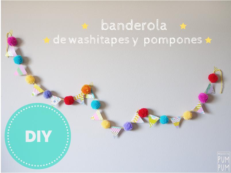 diy_banderola_washitape_pompon_proyecto_pum_pum